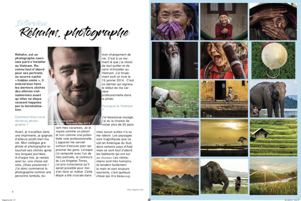 Mise en Page Magazine Interne